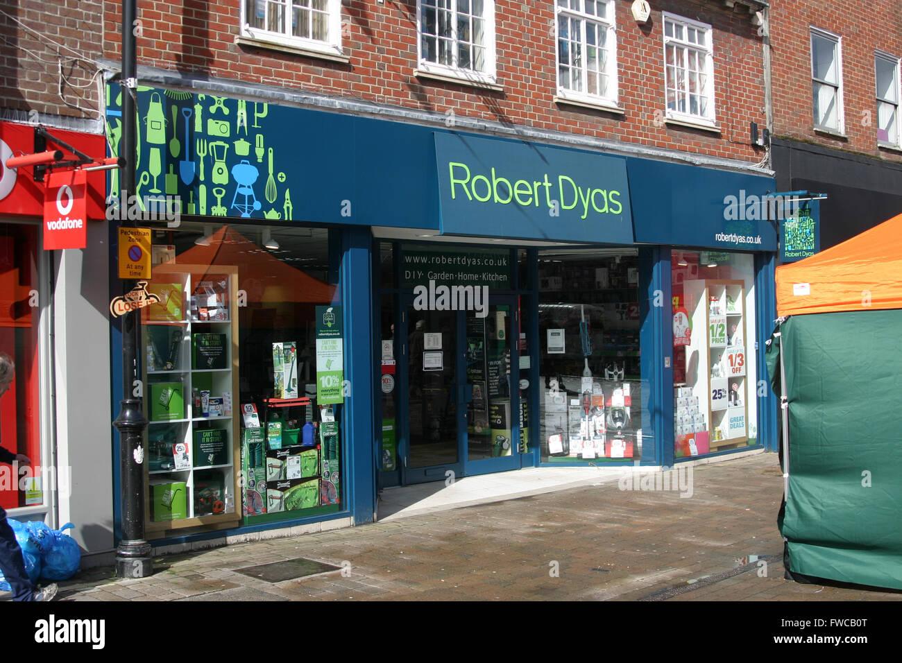 ROBERT DYAS HARDWARE SHOP DIY - Stock Image
