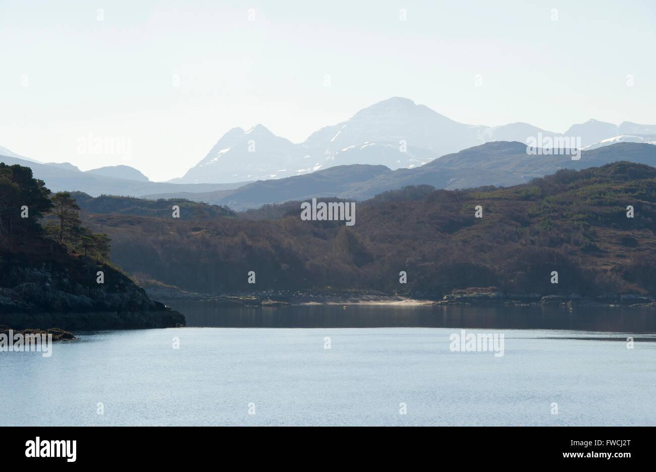 Scottish Highlands, North Coast 500 - Stock Image
