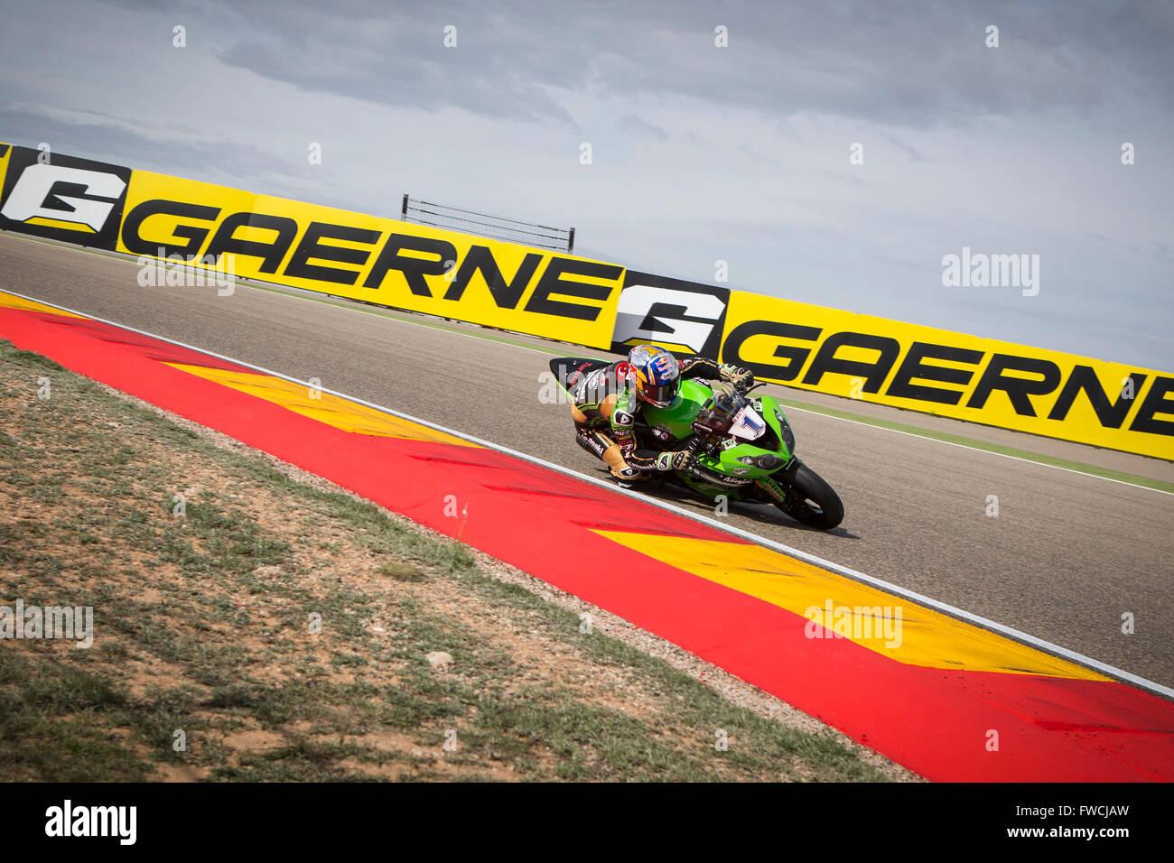 Circuito Motorland : Motorland aragon spain. 3rd april 2016. world championship motul