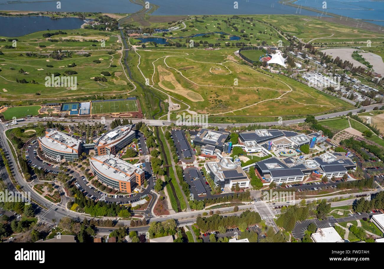 Google Headquarters Googleplex Silicon Valley California