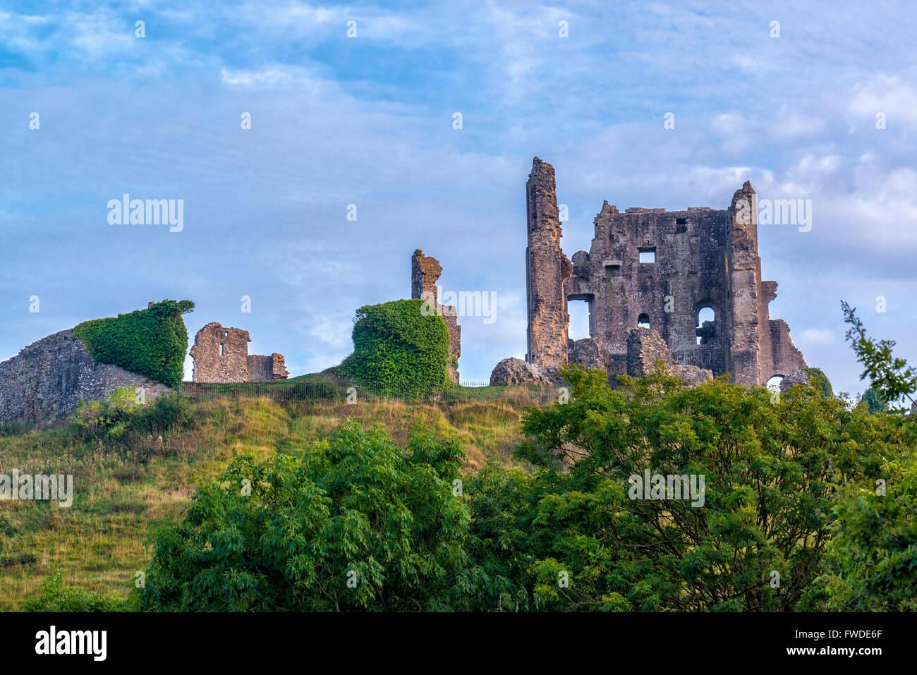 Corfe Castle, Dorset, UK - Stock Image