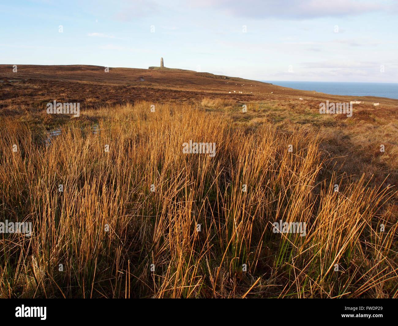 American monument, Mull of Oa, Islay, Scotland Stock Photo