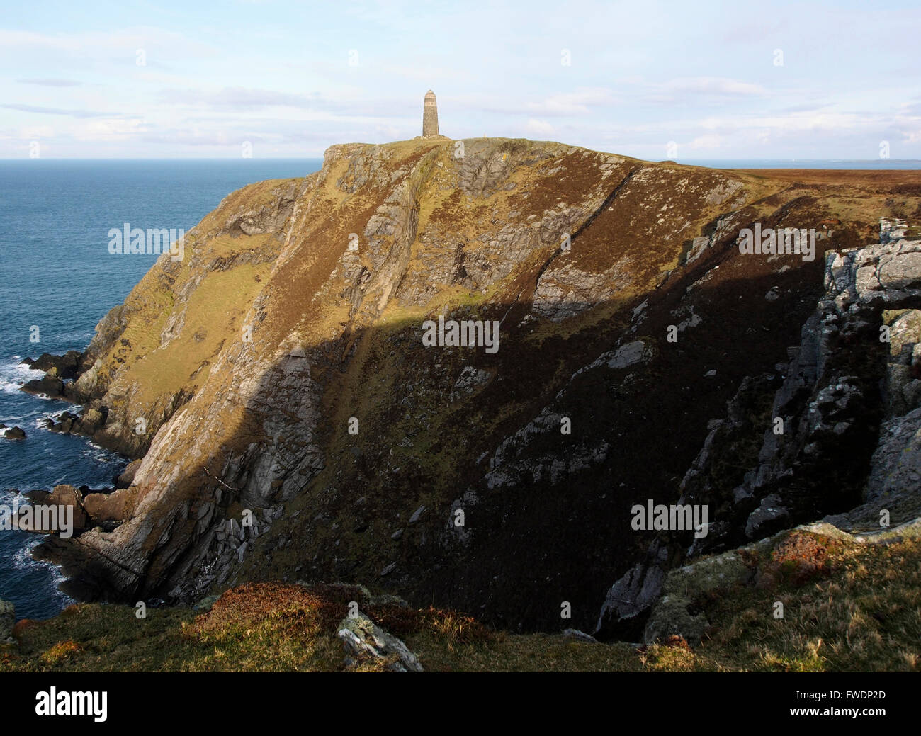 American monument, Mull of Oa, Islay, Scotland Stock Photo