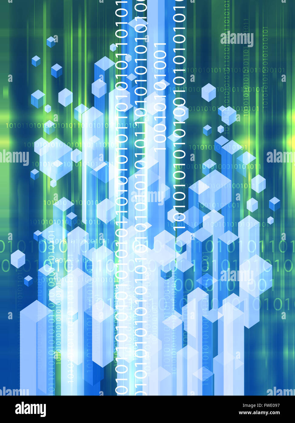 Binary Code Stock Photos Images Alamy Abstact Background With Circuit Board And Technology Abstract Image