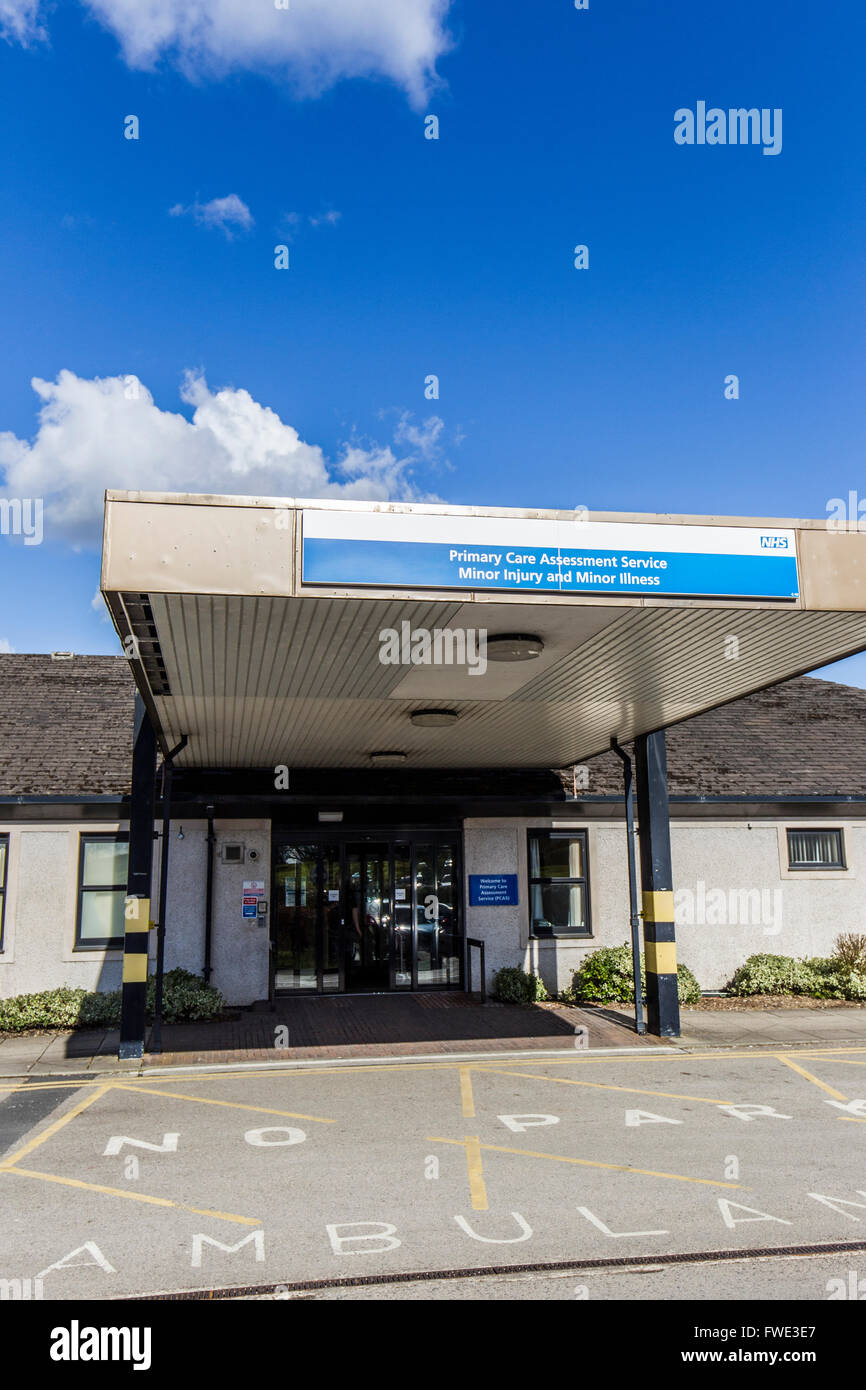 Westmorland General Hospital Primary care assessment services minor injury and minor illness unit - Stock Image