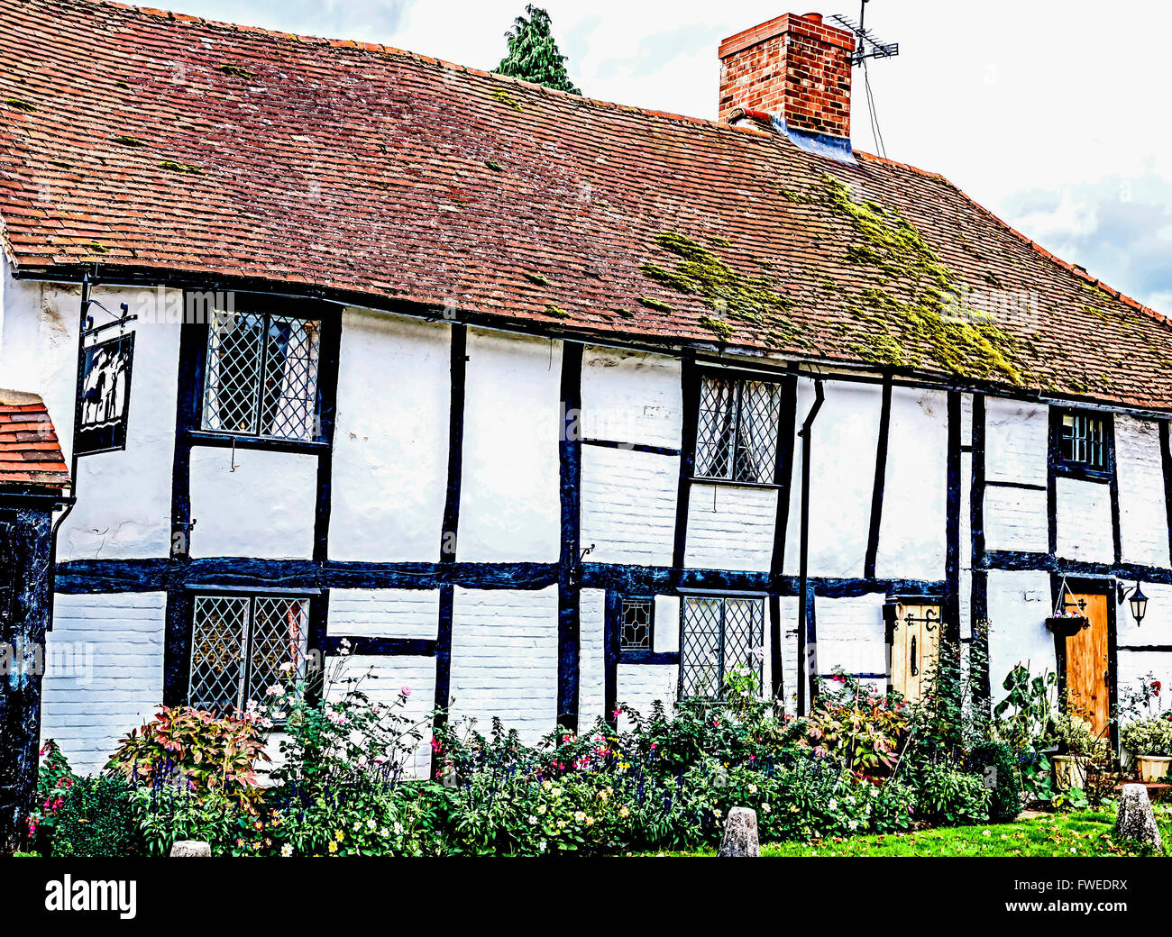 Cottage in Buckinghamshire - Stock Image
