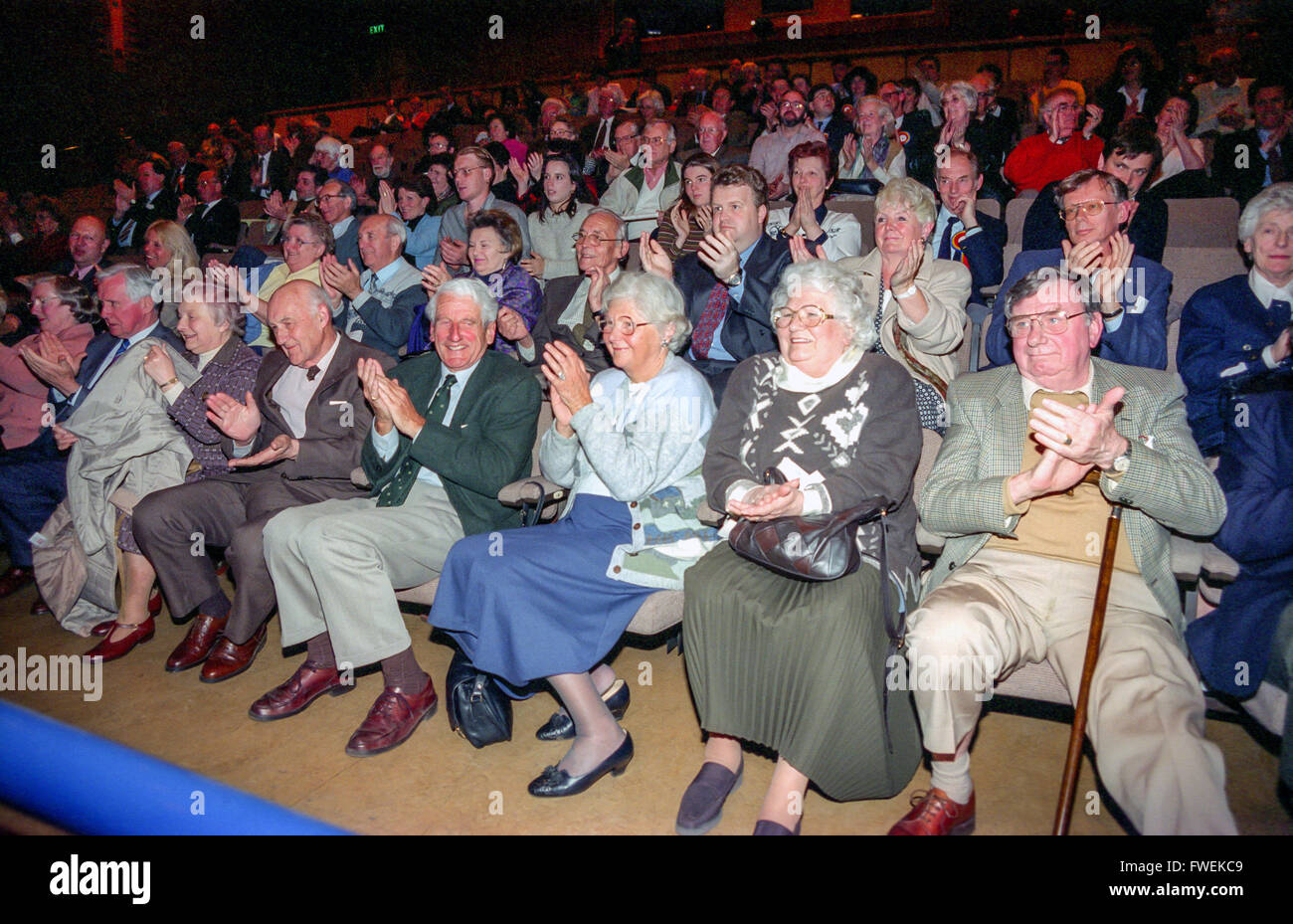 One of the first UKIP conferences in Redhill, Surrey. - Stock Image