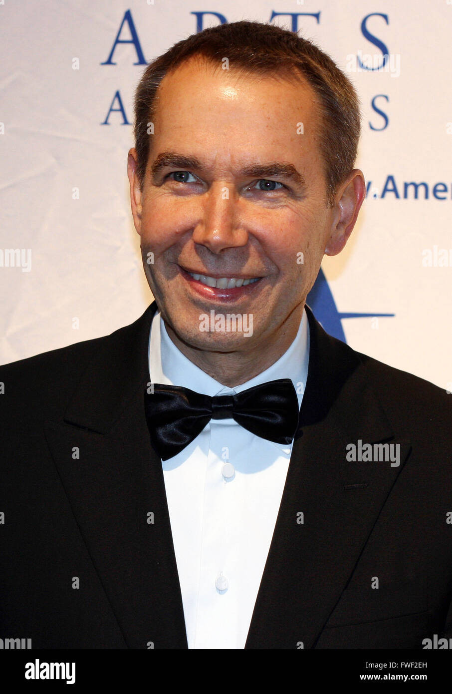 Jeff Koons at The 2008 Americans For The Arts Annual National Arts Awards. Cipriani 42nd Street, New York City, - Stock Image