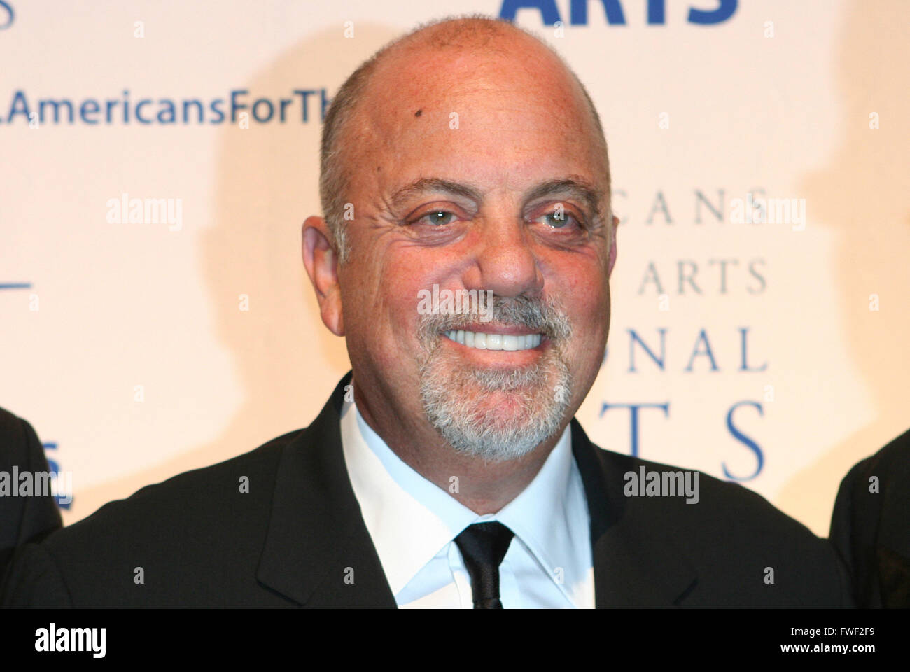Billy Joel at The 2008 Americans For The Arts Annual National Arts Awards. Cipriani 42nd Street, New York City, - Stock Image