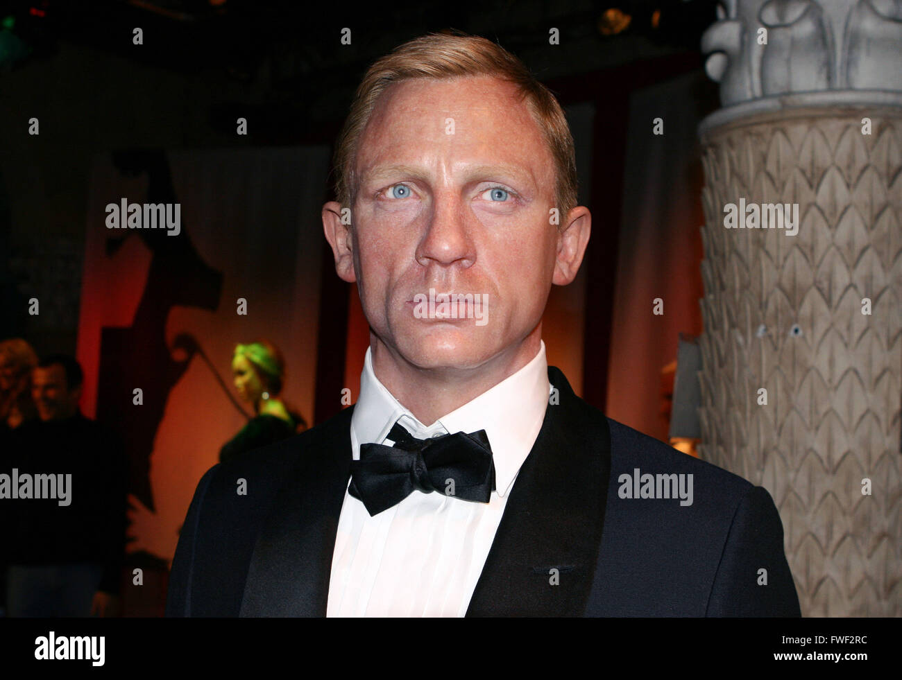 Daniel Craig - Celebrity wax figure at Madame Tussaud's Wax Museum at 42nd Street in New York City. USA. please - Stock Image