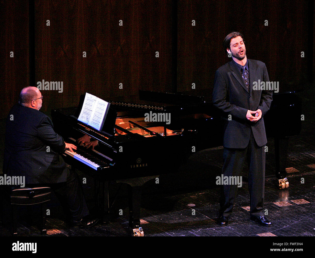 Bass - baritone John Relyea at the special tribute to the late soprano Beverly Sills. Lincoln Center for the Performing - Stock Image