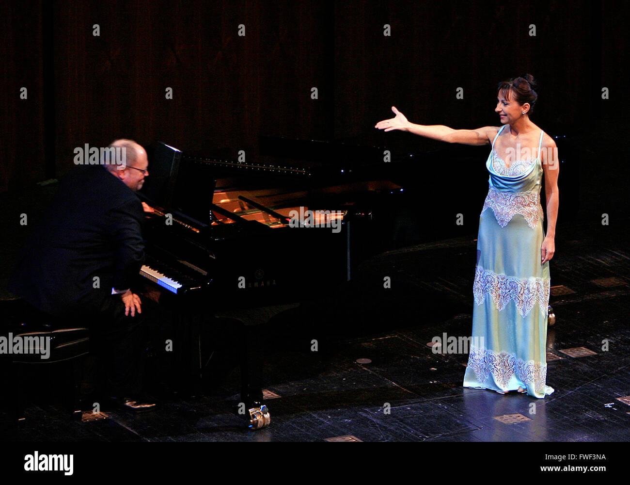 Natalie Dessay at the special tribute to the late soprano Beverly Sills. Lincoln Center for the Performing Arts, - Stock Image
