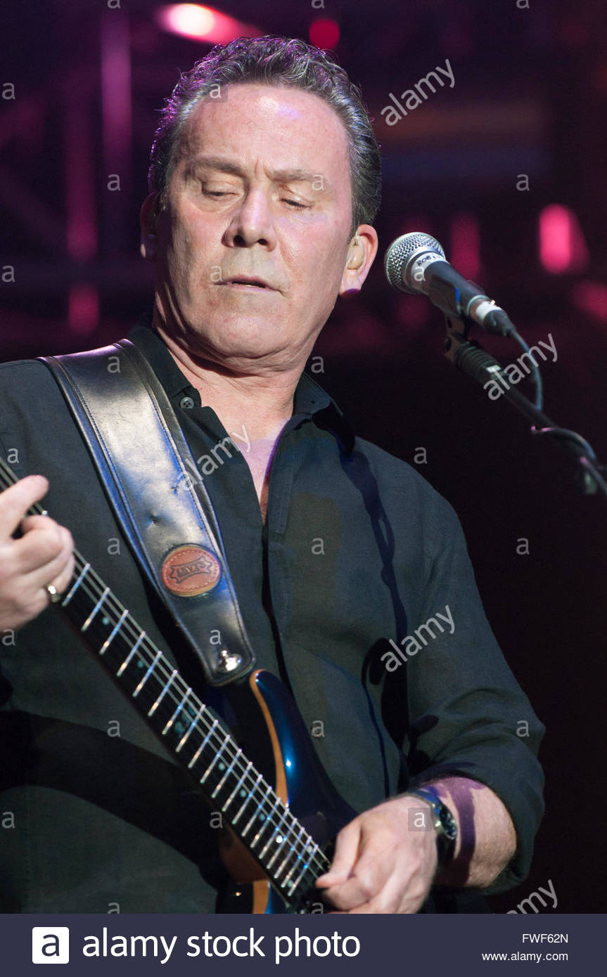 Ali Campbell of UB40 performing at Fairport's Cropredy  festival, UK, 2011. - Stock Image