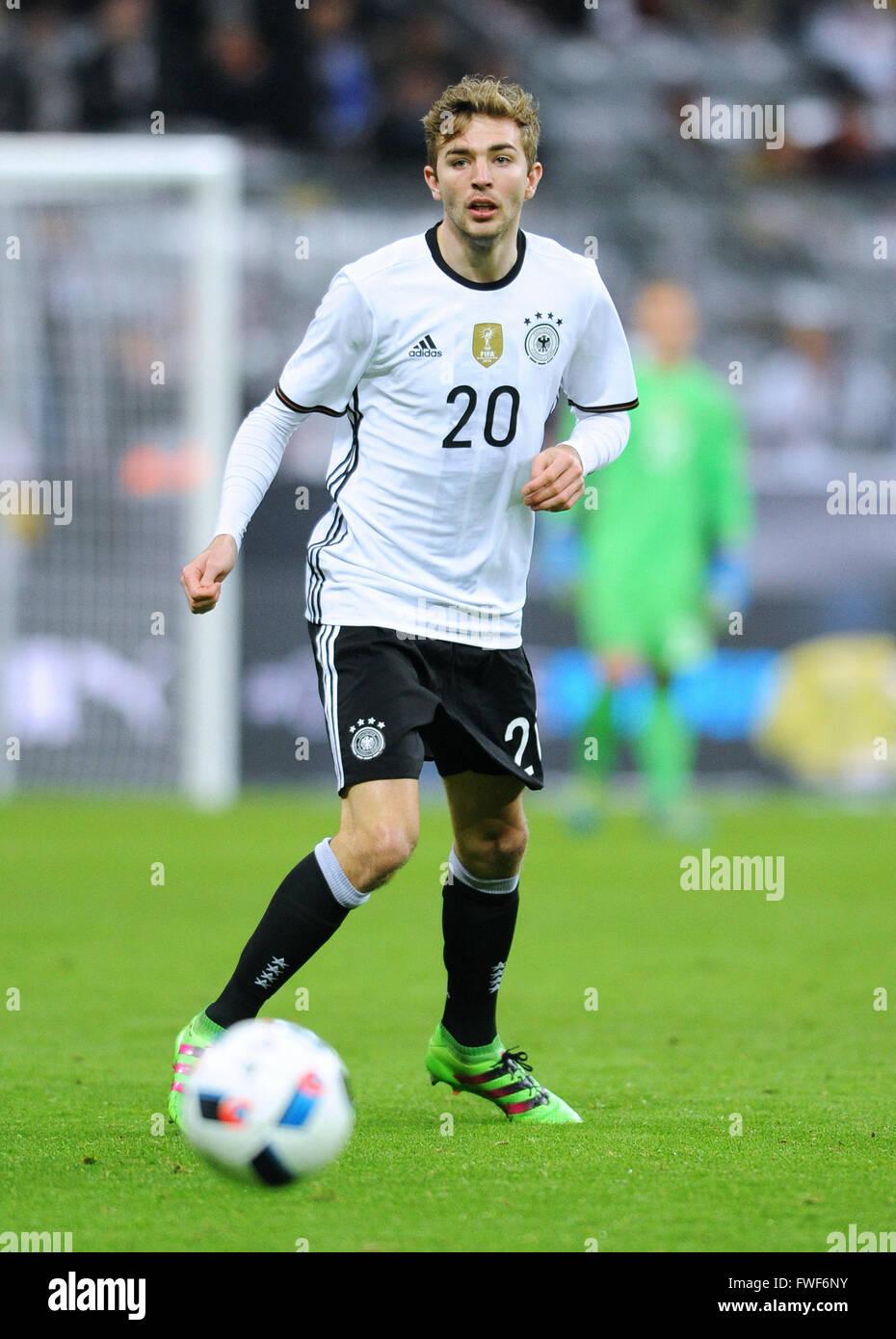 Friendly match at Allianz Arena Munich, Germany vs Italy: Christoph Kramer (GER) - Stock Image
