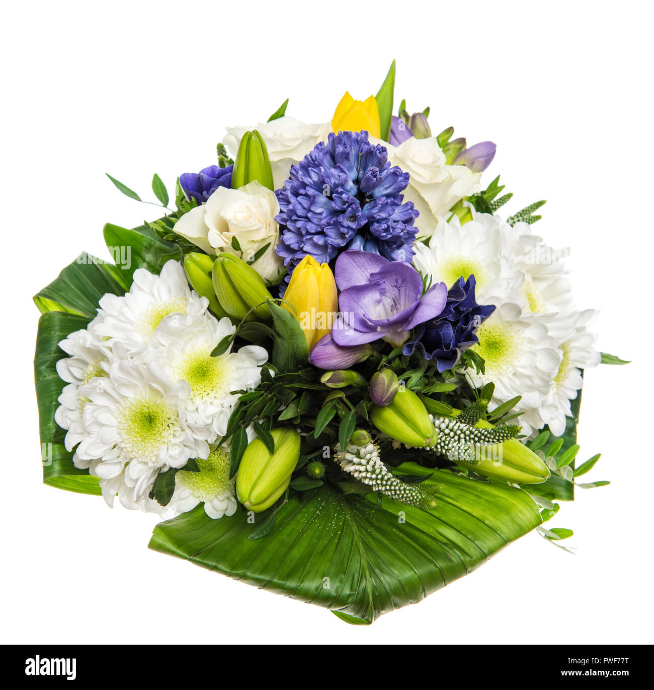 Spring Bouquet Flowers Hyacinth Tulip Stock Photos Spring Bouquet