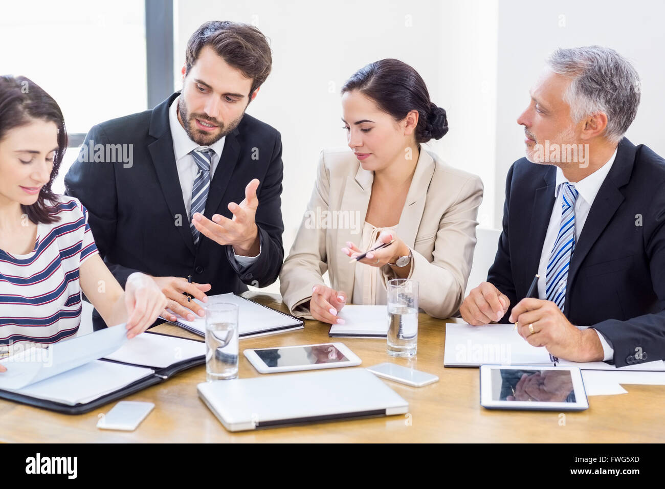 workers are talking to each other stock photo 101774133 alamy