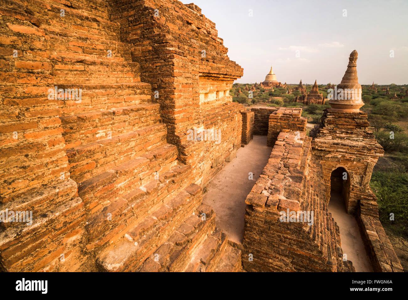 Temples of Bagan (Pagan), Myanmar (Burma), Asia - Stock Image