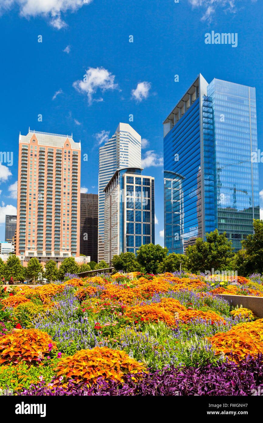 Discovery Green, Houston, Texas, United States of America, North America, - Stock Image