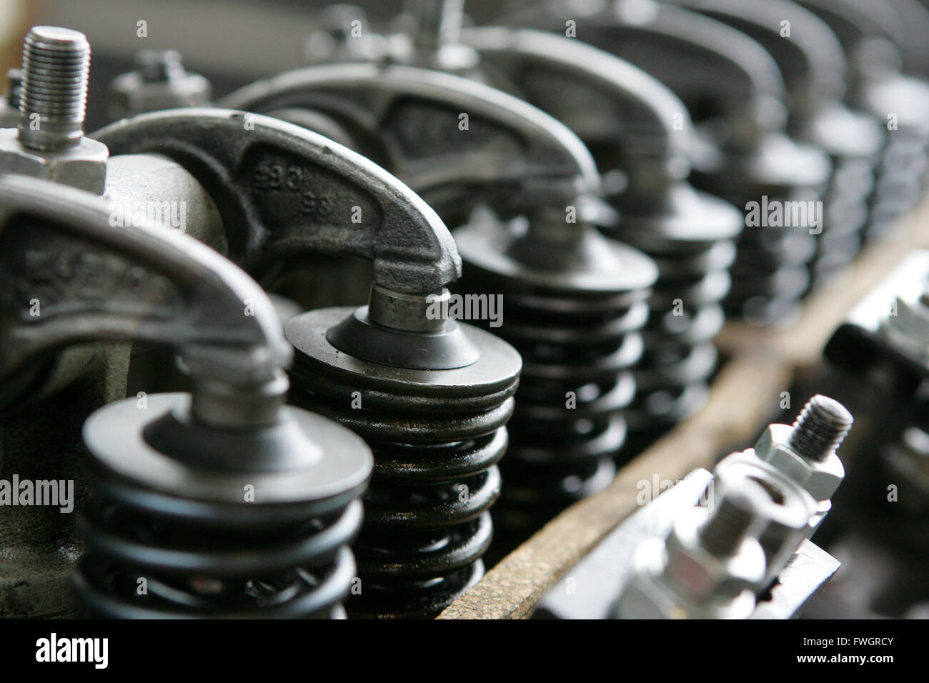 Engine pistons Stock Photo