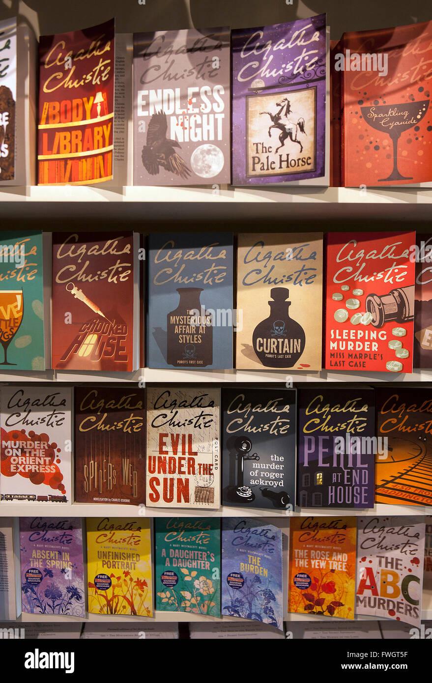 Agatha Christie's Torquay - Stock Image