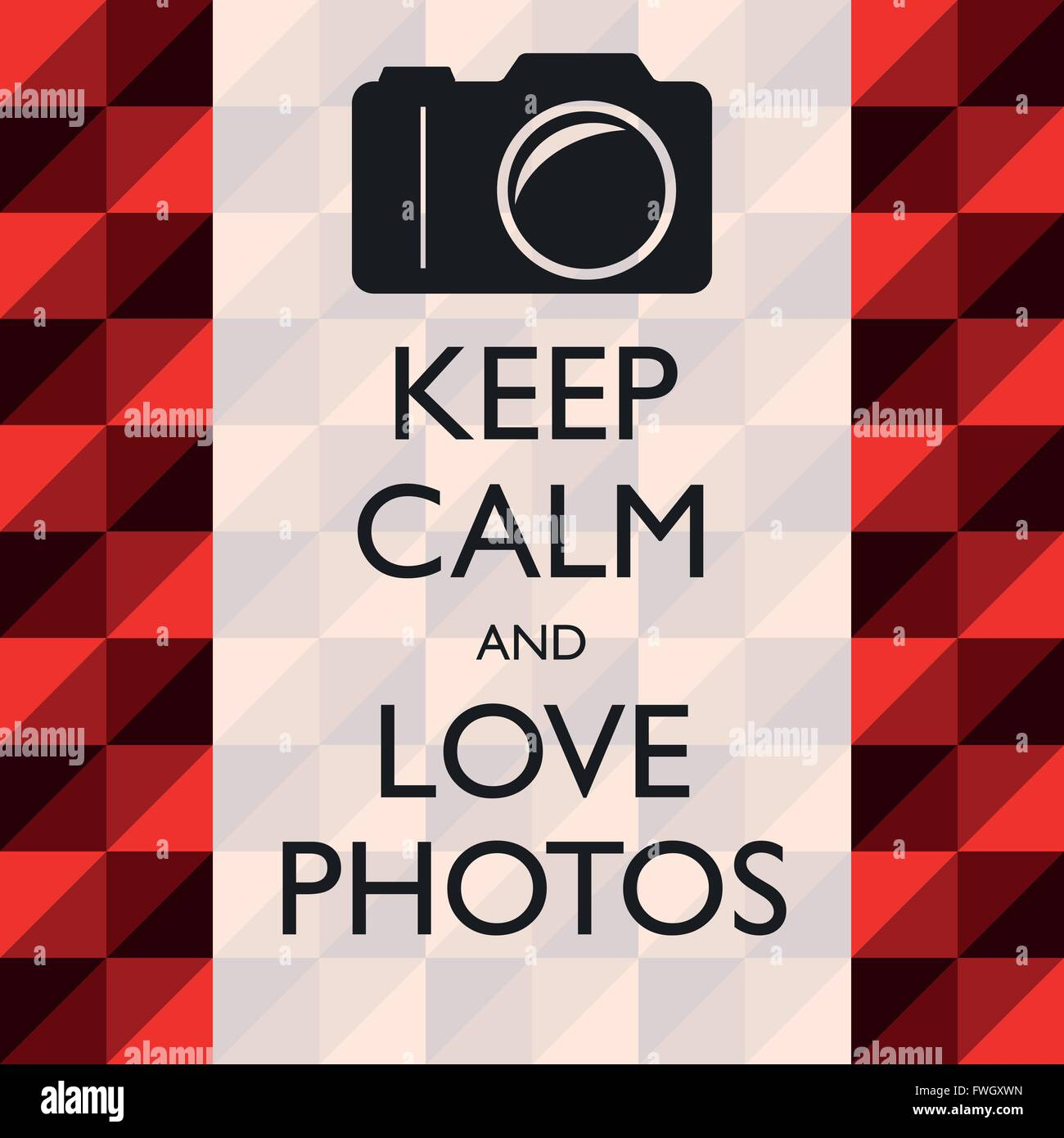 Illustration Graphic Vector Love Photos for different purpose in web and graphic design - Stock Vector