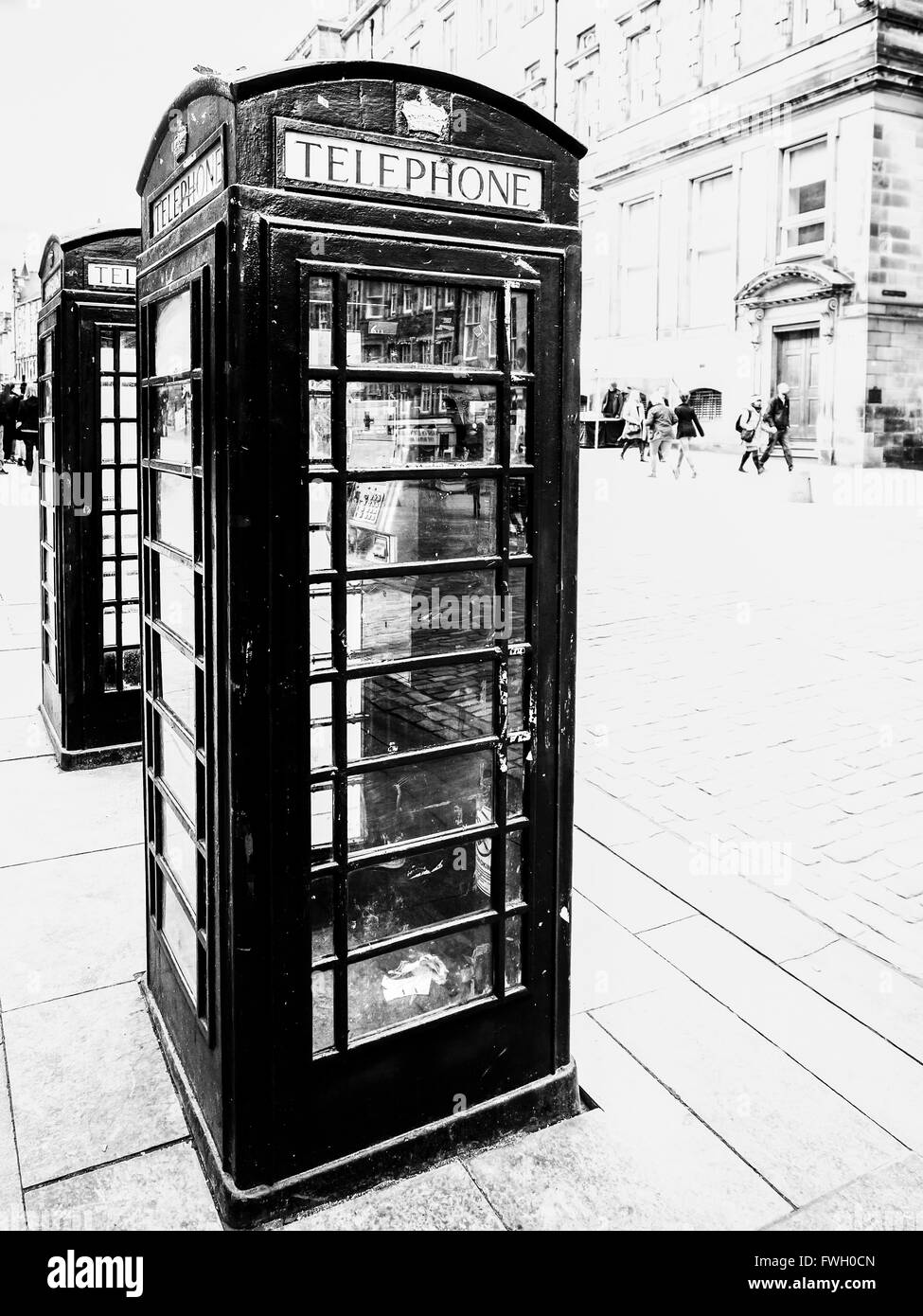 Telephone Booths - Stock Image