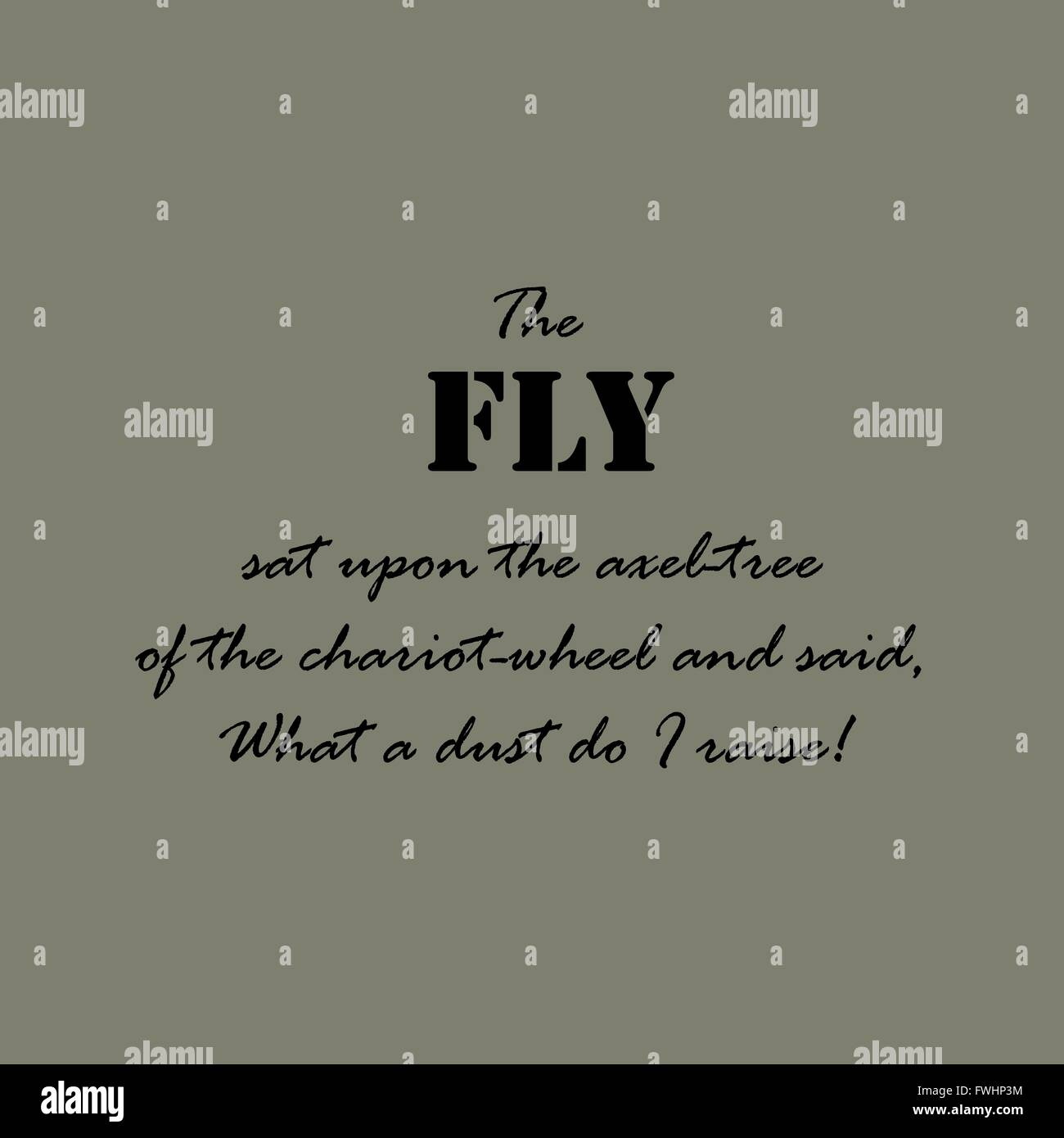 Fly Quotes Aesop quotes. The fly sat upon the axel tree of the chariot wheel  Fly Quotes