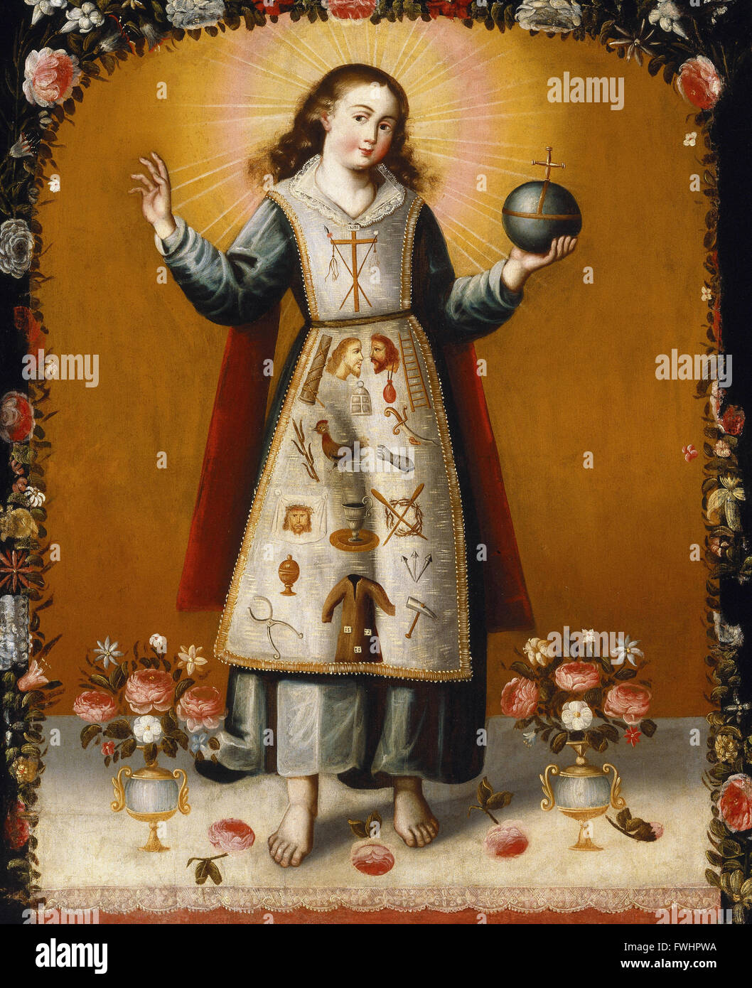 Christ Child with Passion Symbols - Brooklyn Museum - Stock Image