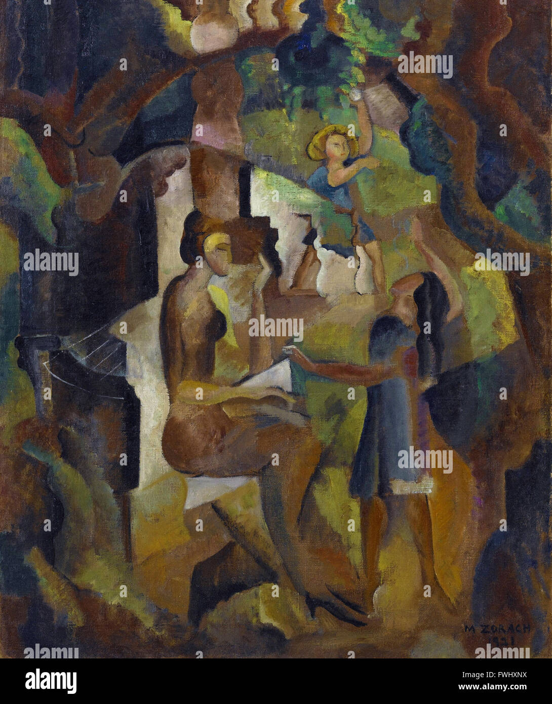 Marguerite Thompson Zorach - Memories of My California Childhood - Brooklyn Museum - Stock Image