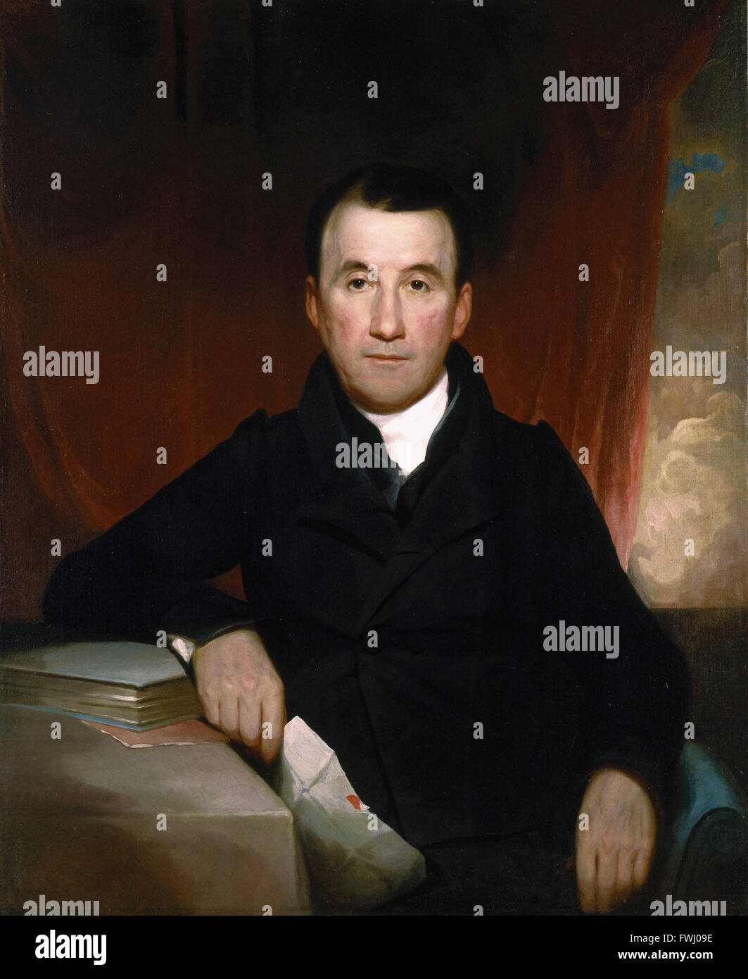 Samuel Finley Breese Morse - Jonas Platt - Brooklyn Museum - Stock Image
