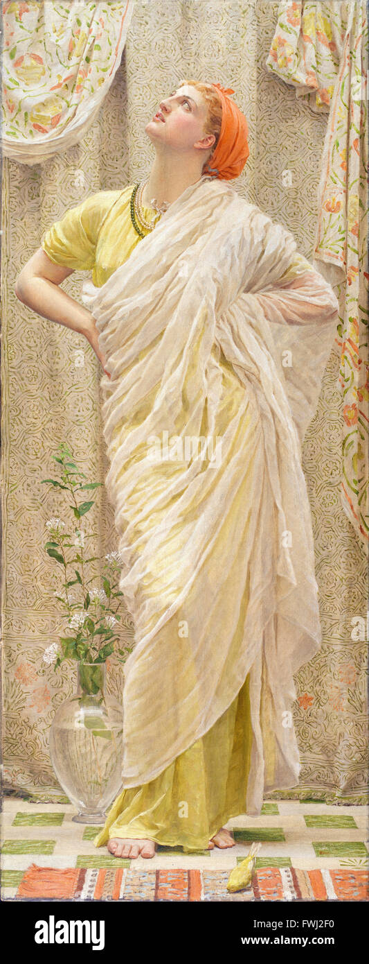 Albert Joseph Moore - Canaries - Stock Photo