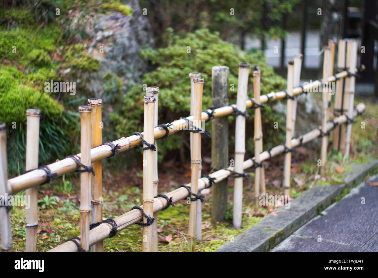 decorative gate in bamboo fence stock image image of.htm japanese fence stock photos   japanese fence stock images alamy  japanese fence stock photos   japanese