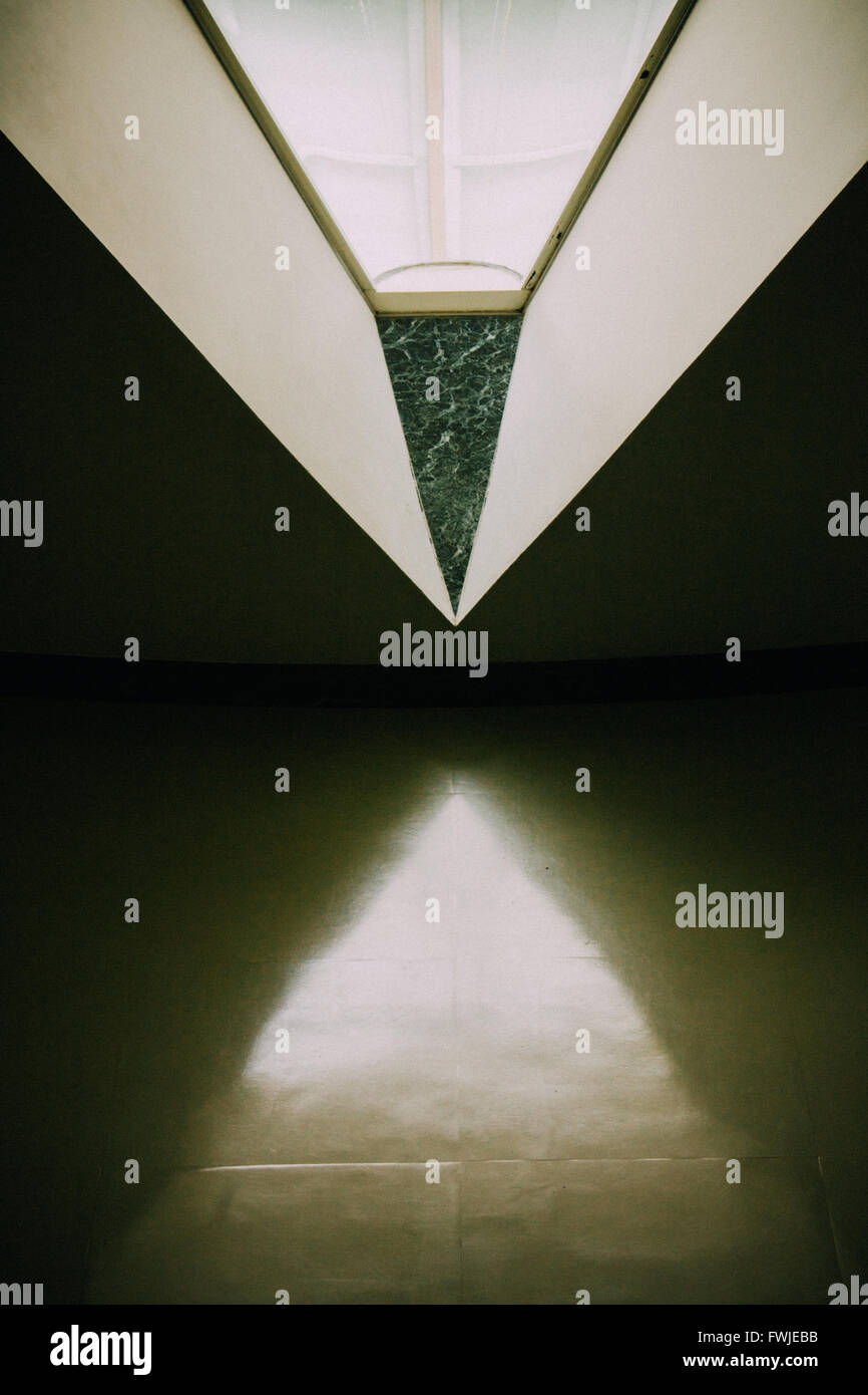 Symmetrical Image Of Window - Stock Image