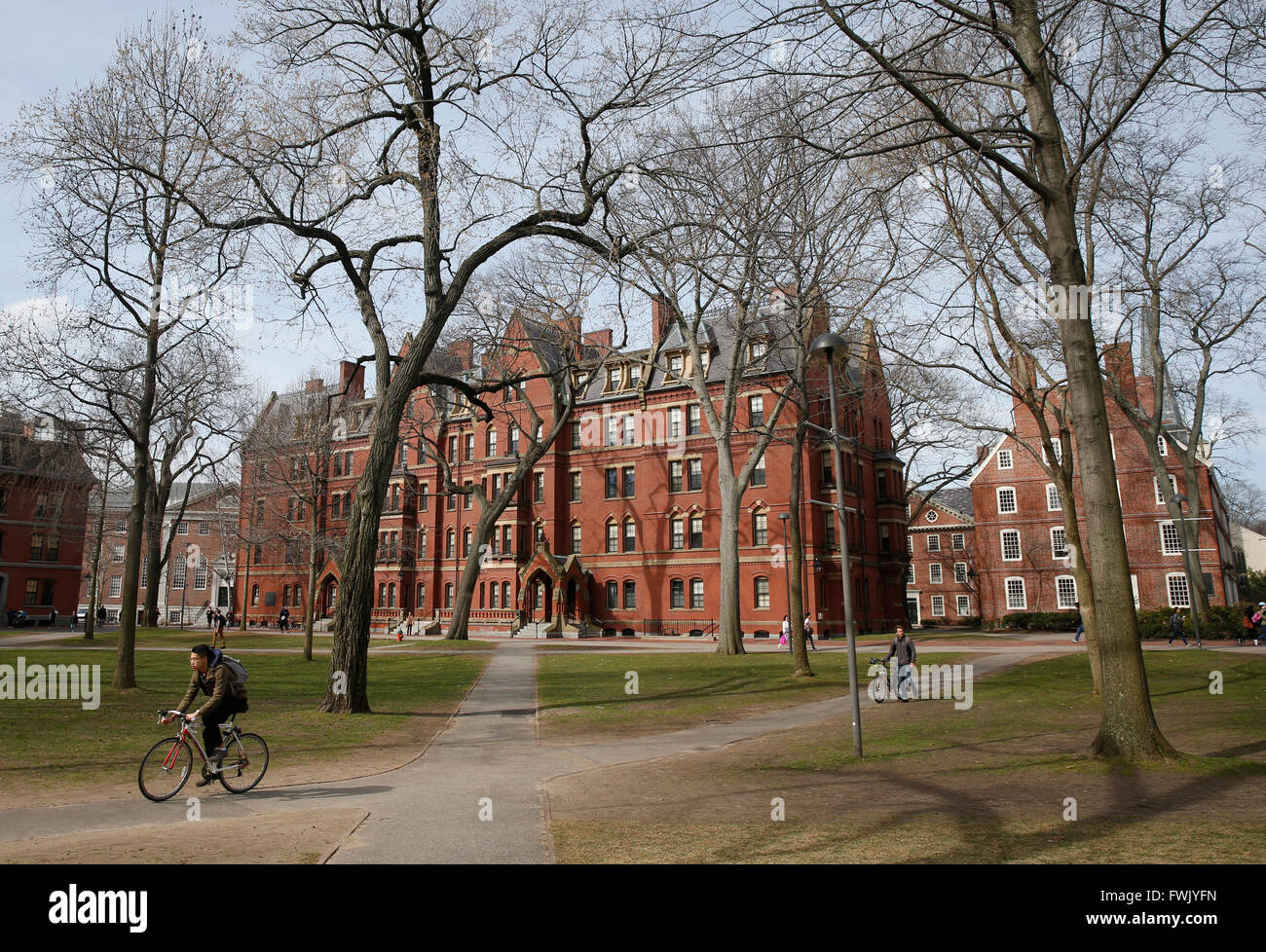 Harvard University, Cambridge, Massachusetts - Stock Image
