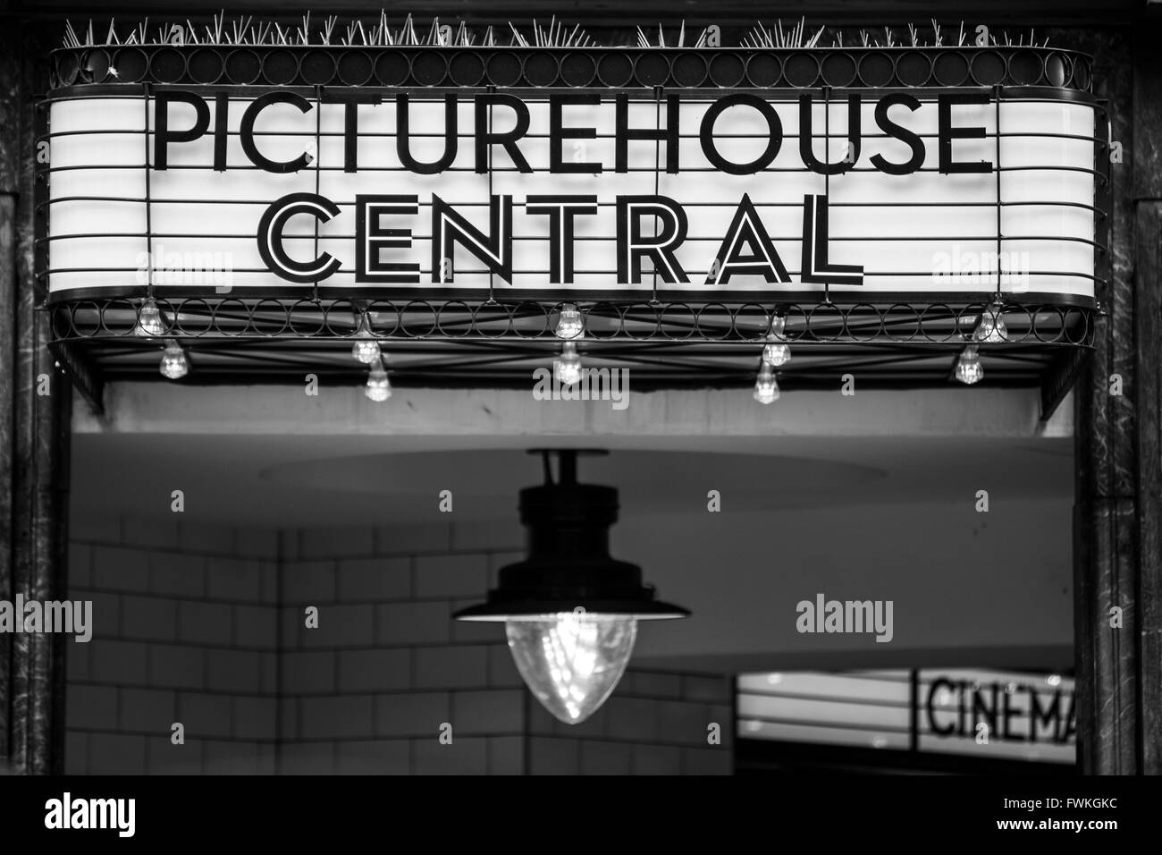 Picturehouse Central Cinema London Shaftesbury Avenue - Stock Image