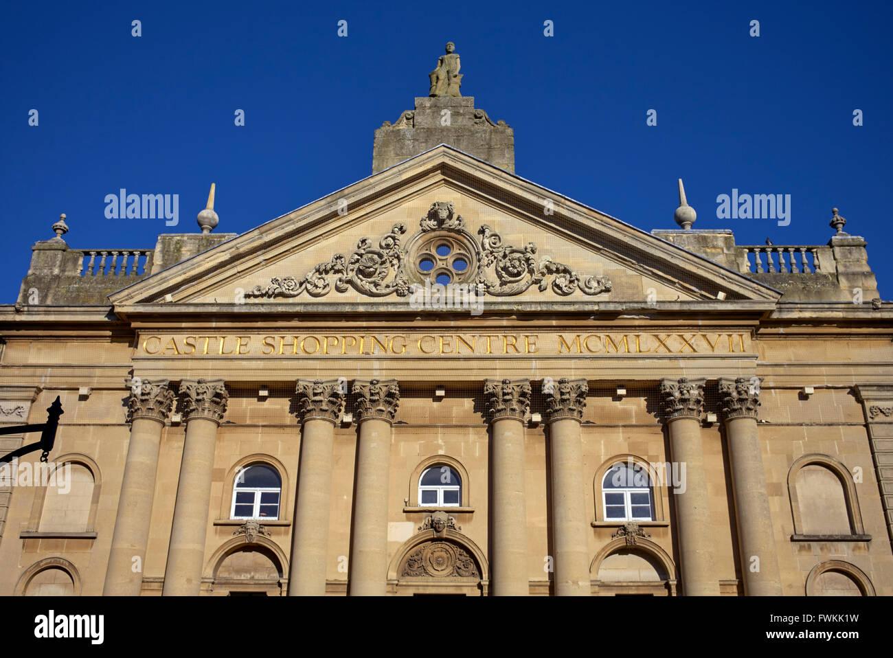 Castle Quay Shopping Center Banbury Oxfordshire England UK - Stock Image