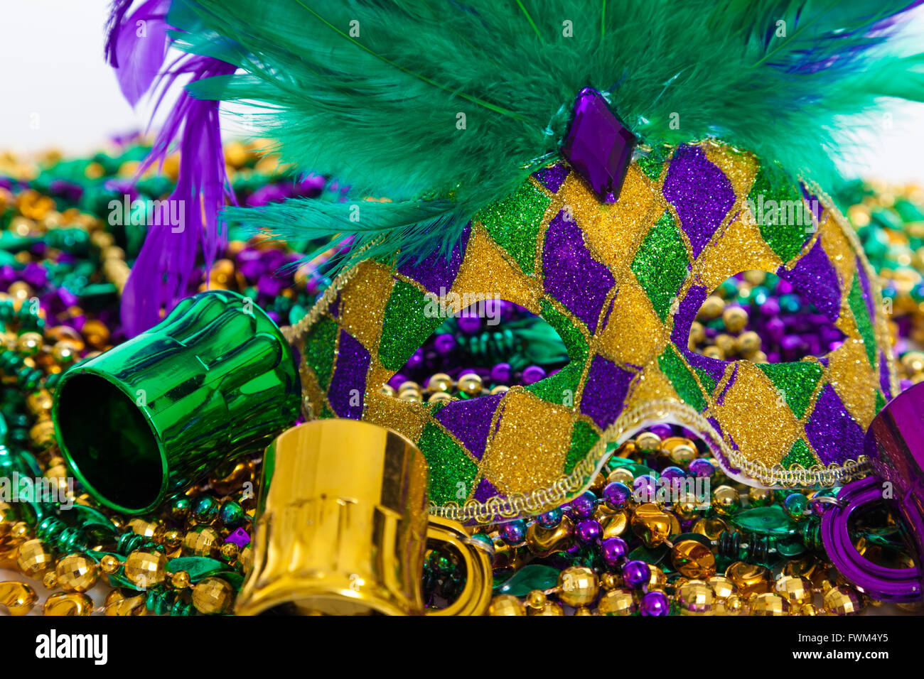 holiday beads top gras white creative background vetre antanaviciute on photos and carnival view mardi mask market