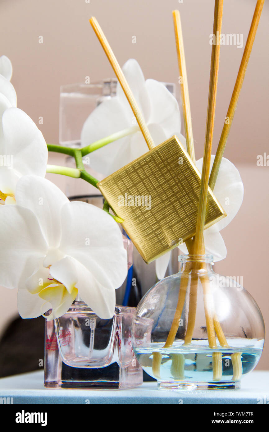 Aroma therapy session with pampering - Stock Image