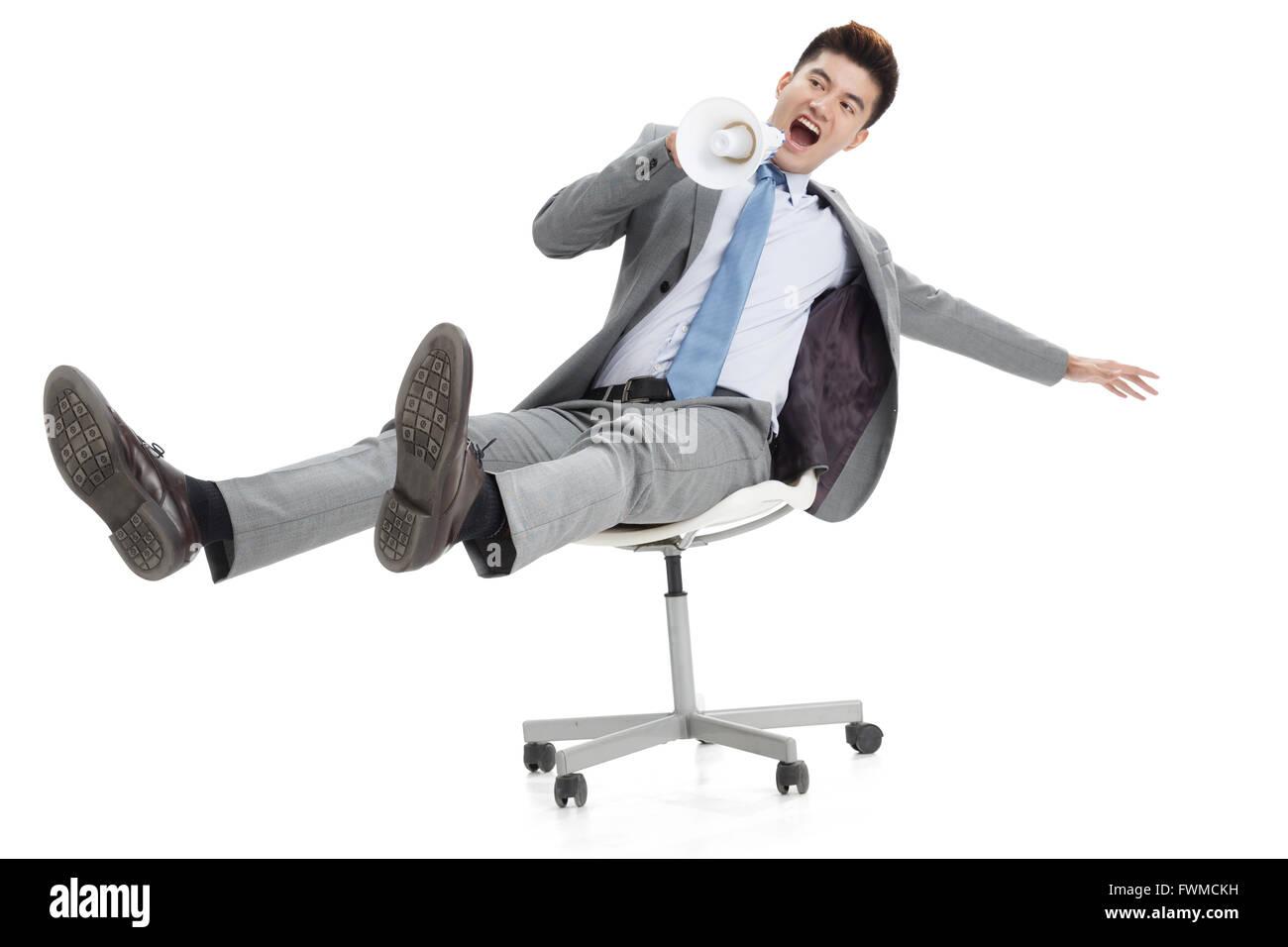 Portrait of businessman - Stock Image