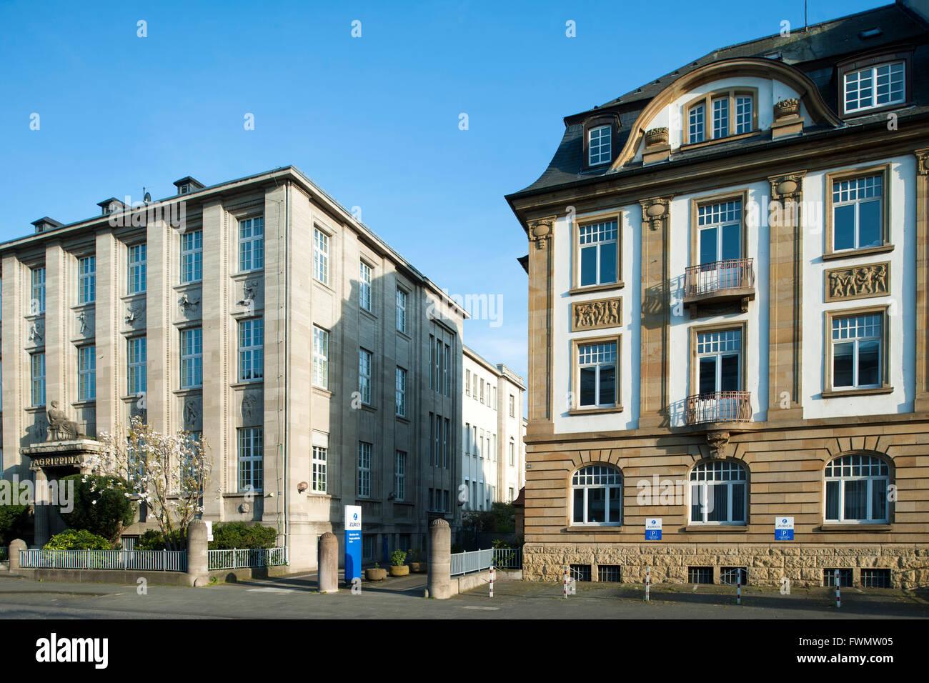 Köln, Neustdt-Nord, Riehler Strasse 90, Bürohaus der Agrippina-Versicherung - Stock Image