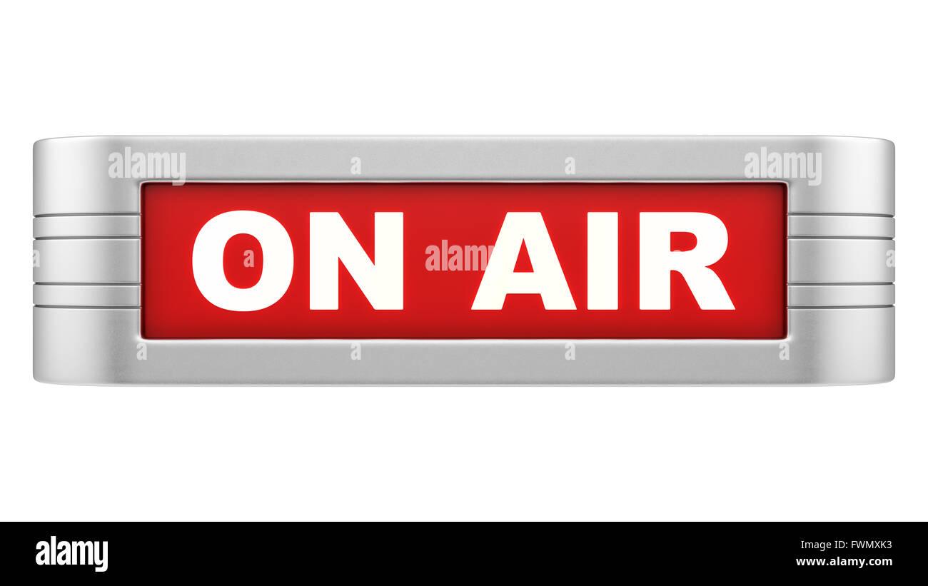 Radio Station On Air Sign Stock Photos Radio Station On Air Sign