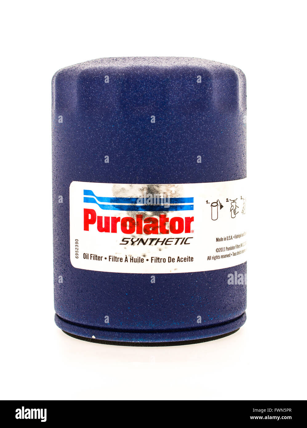 Purolator Stock Photos Images Alamy Fuel Filters Winneconne Wi 23 August 2015 Oil Filter Used On Vehicles