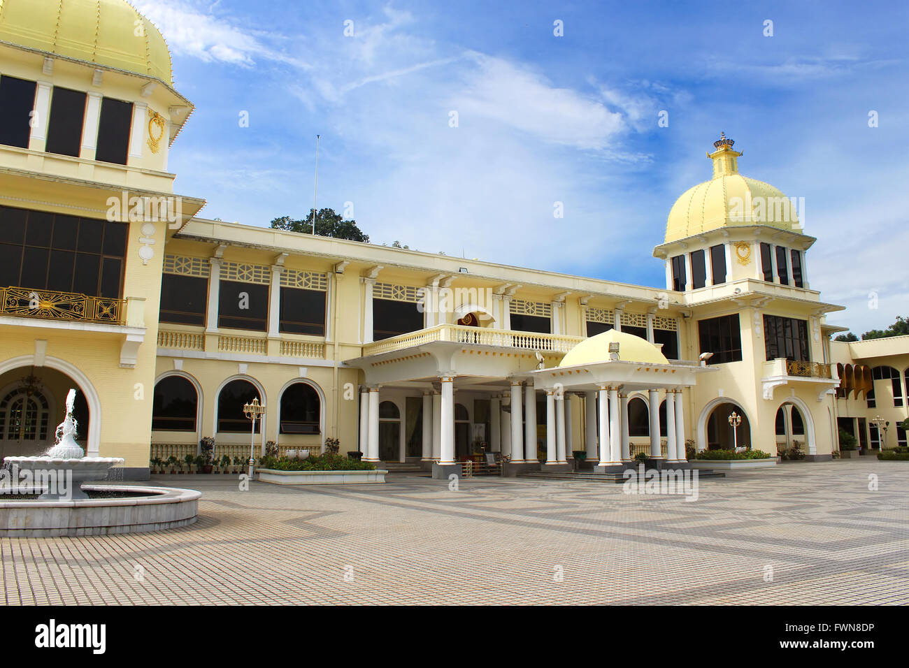 Malaysia old Royal Palace during its public open days in Kuala Lumpur, Malaysia - Stock Image