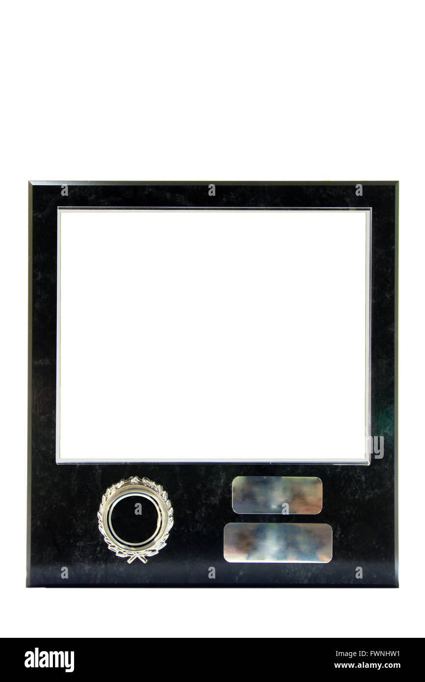modern marble frame Stock Photo