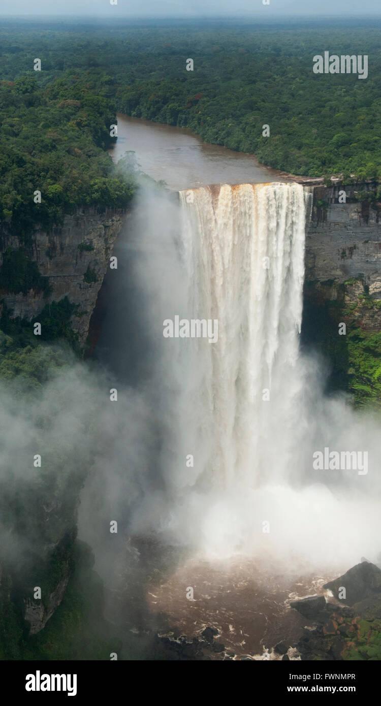 Kaieteur Falls, Potaro River, Kaieteur Falls National Park, Guyana - Stock Image