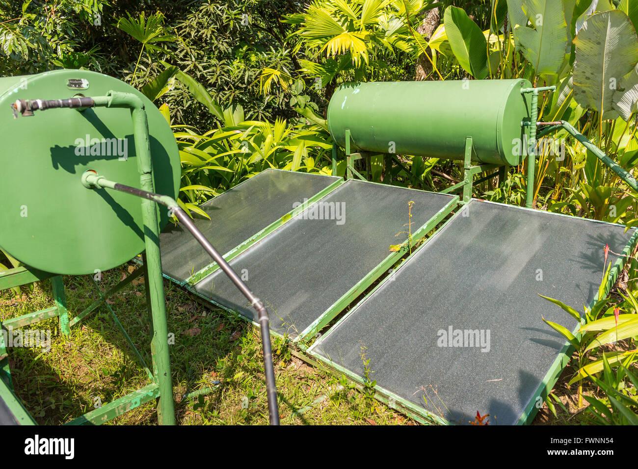 Solar Water Heater Stock Photos & Solar Water Heater Stock Images