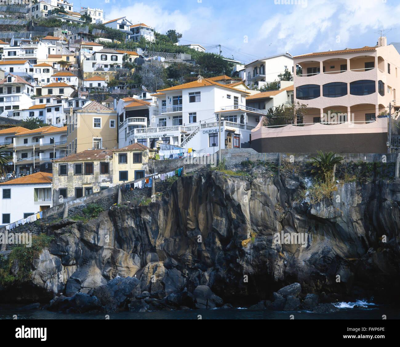 Madeira, Camara de Lobos. - Stock Image