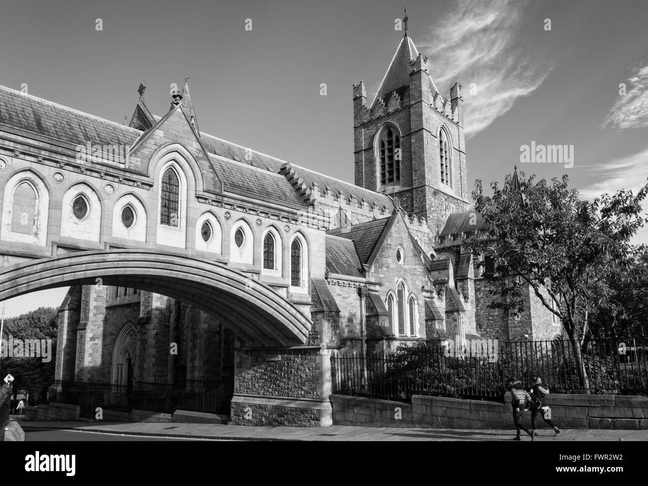 Christ Church Cathedral - Dublin - Stock Image