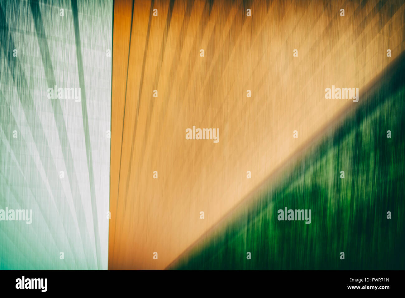 Motion blurred abstract grunge background or texture with copy space. - Stock Image