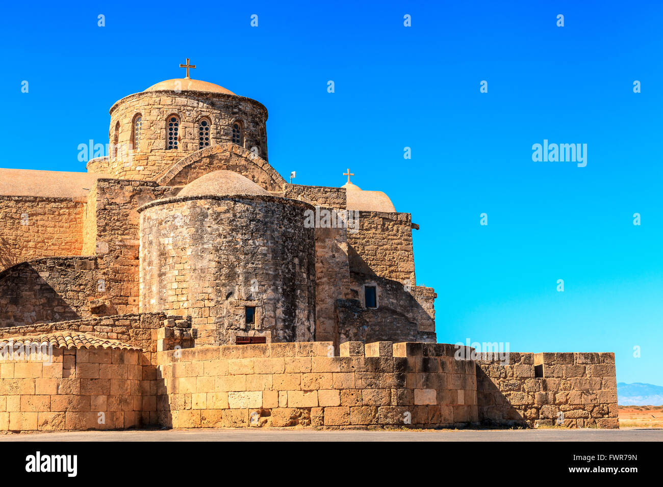 Historic St. Barnabas Church in Cyprus. - Stock Image